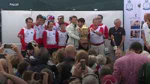 News video: Kate and William clash with celebrities at King's Cup regatta
