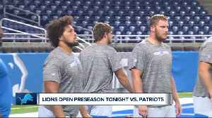 Lions open preseason against New England Patriots [Video]