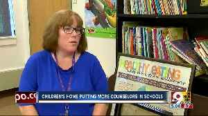 Children's Home adds counselors in schools to prevent violence [Video]