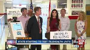 Telehealth in Panhandle could be pilot program for schools across the state [Video]