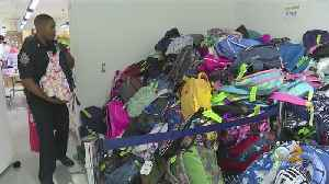 Operation Backpack Helping Shelter Kids Go Back To School [Video]