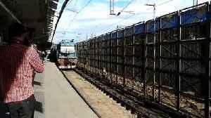 Samjhauta Express arrives in Delhi [Video]