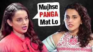 Kangana Ranaut V/S Taapsee Pannu | Jayalalitha Biopic V/S Sushma Swaraj Biopic [Video]