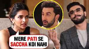 Deepika Padukone SHOCKING Confession For EX Ranbir Kapoor And Ranveer Singh [Video]