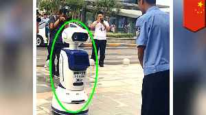 China deploys Robocops with facial recognition [Video]