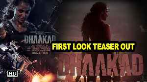 Kangana's ferocious avatar in Dhaakad | First Look Teaser out [Video]