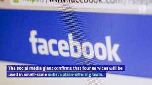 Facebook Ventures Into Video Subscription Services [Video]