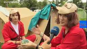 Sziget music festival in Hungary showcases its green credentials [Video]