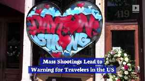 Mass Shootings Lead to Warning for Travelers in the US [Video]