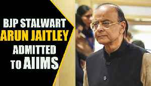 Arun jaitley admitted to Delhi's AIIMS | Oneindia News [Video]
