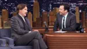 Will Ferrell Reprises Role as 'Anchorman' to Promote  Ron Burgundy Podcast | THR News [Video]