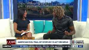 'American Idol' star stops by the 13 Action News studio [Video]