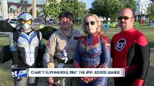 Meet the Justice League, Western New York's charity superheroes [Video]