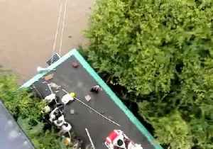 Indian Navy Conduct Rescue Operations in Flood-Hit Karnataka [Video]