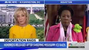 Rep. Jackson Lee Associates ICE Raids To Nazi Gestapo Tactics [Video]