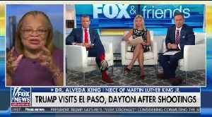 Alveda King says Trump is not a racist on 'Fox & Friends' [Video]