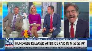 Geraldo Rivera complains about ICE raids [Video]