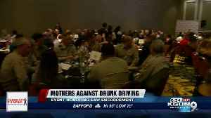 Heroes in southern Arizona honored by Mothers Against Drunk Driving [Video]