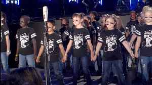 The Andrew Jackson Elementary Eagle Honor Choir Perform Carrie Underwood's 'Champion' [Video]