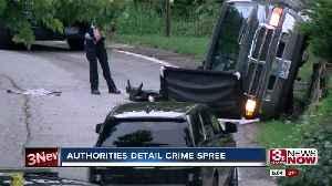 Authorities Detail Crime Spree in IA [Video]