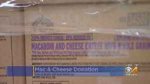 Food Bank Receives Nearly 40,000 Pounds Of Mac & Cheese [Video]