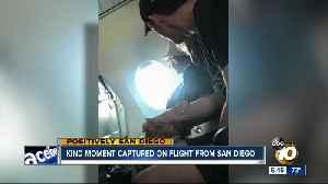 News video: Kind moment captured on San Diego flight