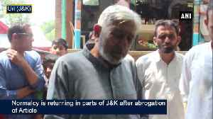 JK gradually returning to normalcy days after abrogation of Article 370 [Video]