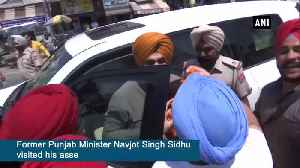 Navjot Singh Sidhu visits his assembly constituency in Amritsar [Video]