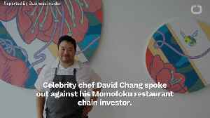 Chef David Chang Speaks Against Stephen Ross' Trump Fundraiser [Video]