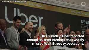Uber Stock Tanks After Earnings Reports [Video]
