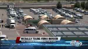 Sen. Martha McSally tours Yuma border [Video]