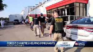 Forest charities helping immigrants after ICE raids [Video]