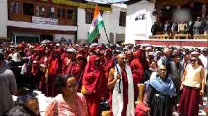 News video: Buddhist Association organises 'thanksgiving' to celebrate Ladakh's UT status