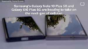 Samsung Launches New Galaxy Smartphones [Video]
