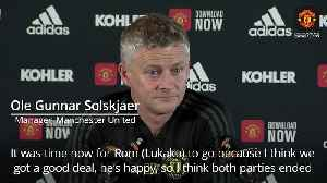 Solskjaer: It was time for Lukaku to go [Video]