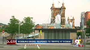 Roebling reopened to traffic [Video]