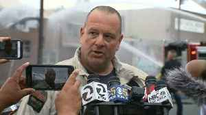 News video: Raw Video: Fire Department Briefing On East Oakland Warehouse Fire