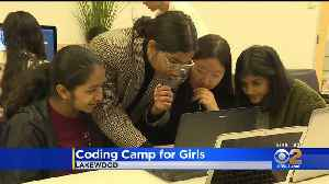 Local Coding Camp For Girls Inspires Next Generation Of Computer Scientists [Video]