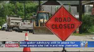 Jeannette Boil Water Advisory Continues [Video]