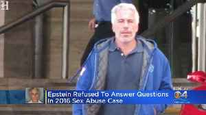 News video: Documents Reveal South Florida Financier Jeffrey Epstein Refused To Answer Sex Abuse Questions In 2016