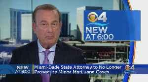 Miami-Dade To Stop Prosecution Of Minor Cases Involving Marijuana Following Legalization Of Hemp In Florida [Video]