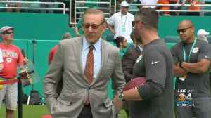 Miami Dolphins Receiver Kenny Stills Stands By Tweets Criticizing Owner Stephen Ross' Fundraiser For Trump [Video]