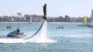 San Diego Teen with Autism Uses Jetboard as Form of Therapy [Video]