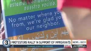 Dozens gather in Madison to show support for immigrant community [Video]