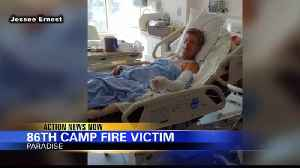 Son speaks about father, the latest Camp Fire death [Video]