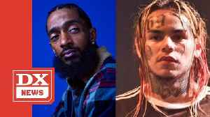Nipsey Hussle Disses Tekashi 6ix9ine On Rick Ross' 'Rich Nigga Lifestyle' [Video]