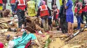 News video: Massive monsoon landslide sweeps away a southern Indian village
