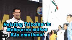 Hoisting Tricolour in Melbourne makes KJo emotional [Video]