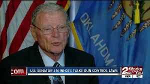 Senator Inhofe speaks about 'Red Flag' laws [Video]
