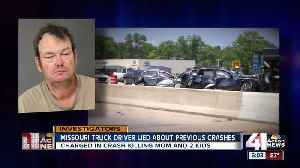NKC-based truck driver lied to get job before deadly Indianapolis crash [Video]
